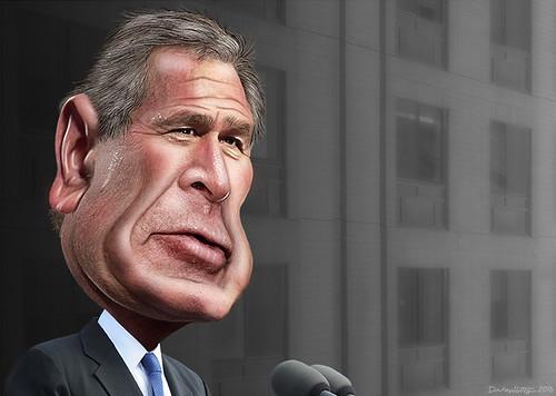 George W. Bush - Caricature