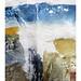 Porthmeor surf and beach streams by Carolyn Saxby