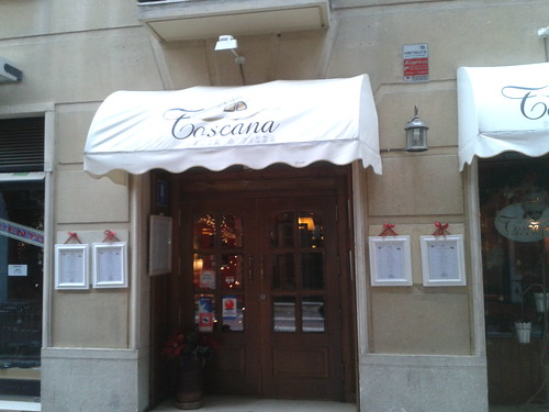 Zaragoza | Toscana Pasta & Pizza | Entrada