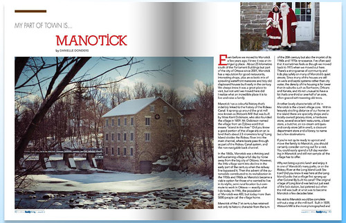 Ottawa Family Living magazine, December 2012