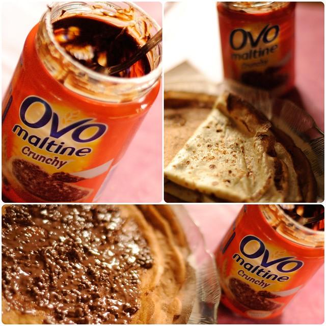 Ovomaltine Crunchy, pâte à tartiner