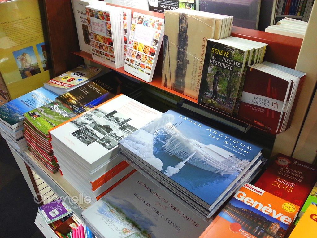 Léman Arctique - FNAC Rive bookstore Geneva