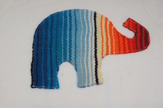 Serape Elephant Onesie 2