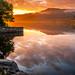 Llansberis Lake by graycateverywhere