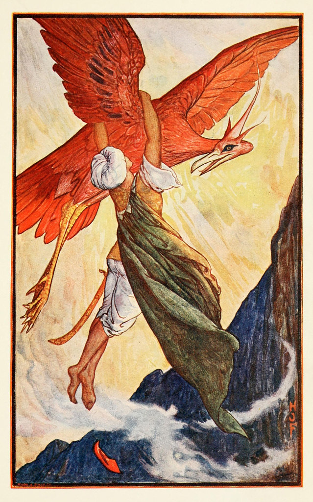 Henry Justice Ford - The violet fairy book, edited by Andrew Lang, 1906 (color plate 2)