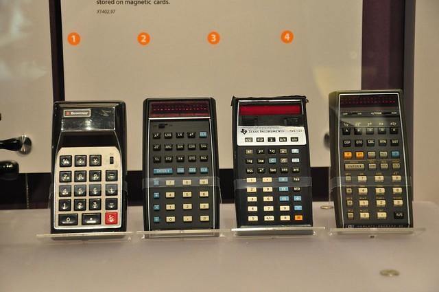 Early calculators