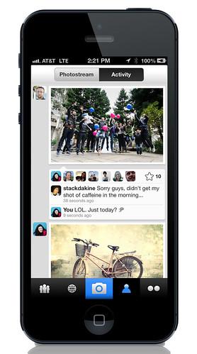 Die neue Flickr App