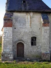 Dreuil-Hamel (église) lézardes