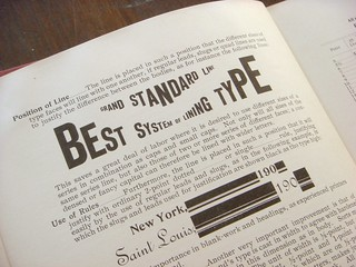 Inland Type Foundry Pony Specimen Book