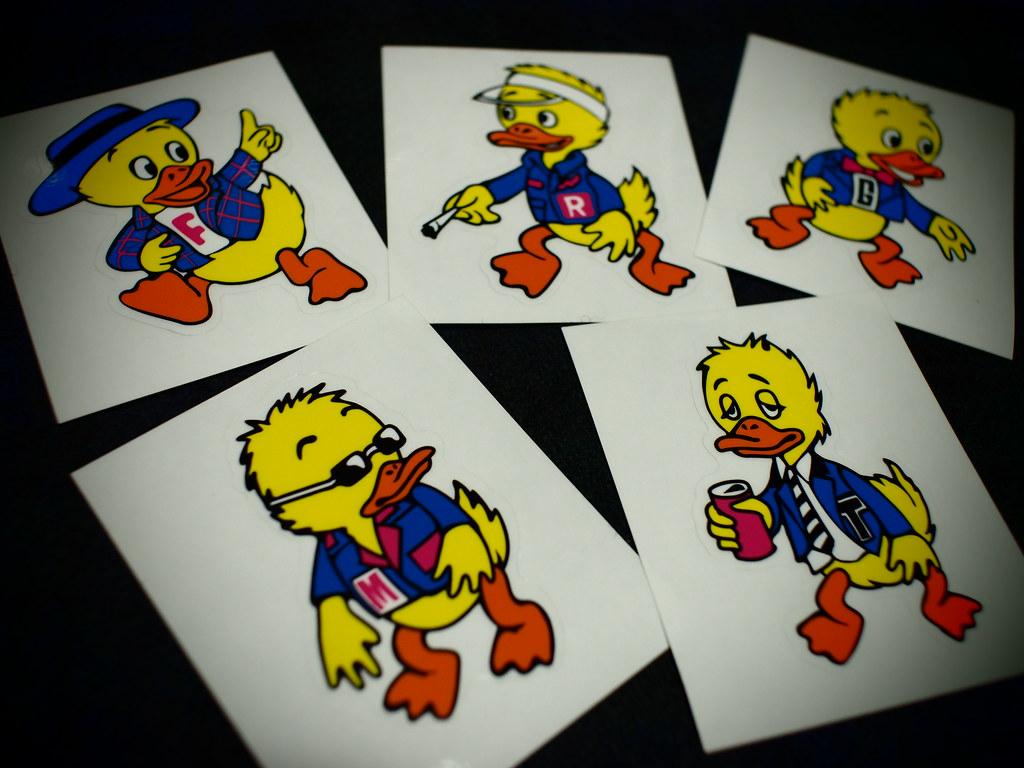 F.R.G.M.T. Duck Sticker