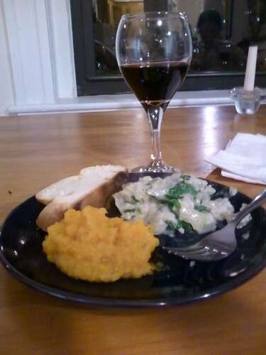 Dinner with Hannah 10.10.12
