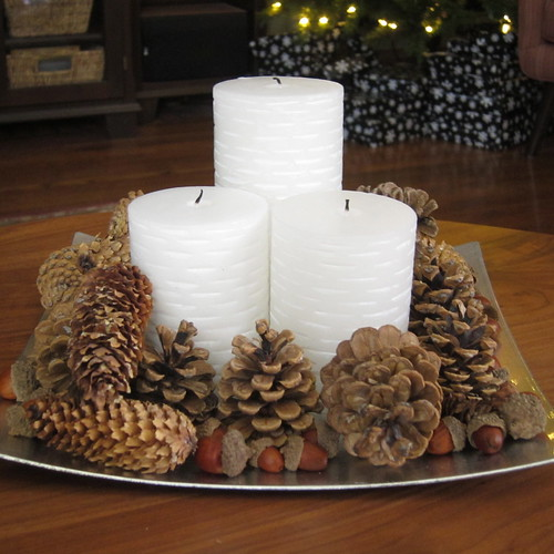 Iron Craft Challenge #25 - Natural Holiday Centerpiece