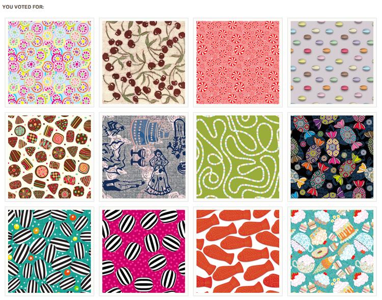 Ruby door art design sweet fabric print designs for Design couchtisch fabric