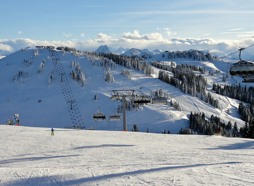Skiwelt - early season