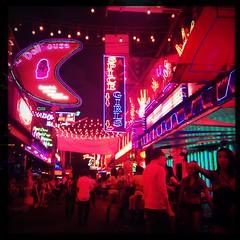 Soi Cowboy Red Light District, Bangkok, Thailand