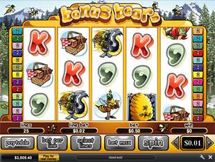 free slot game bonus bear