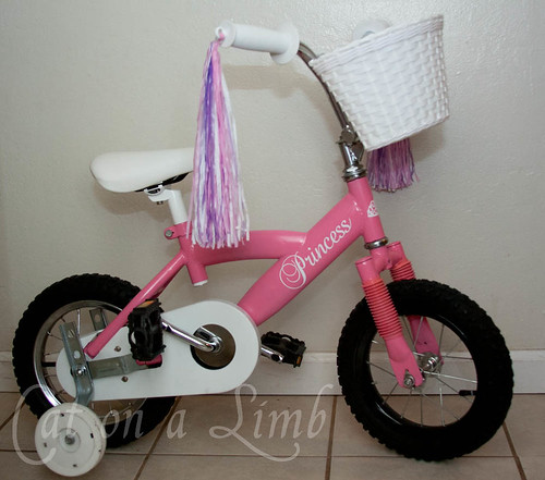 Cat on a Limb-Pink Princess Bike