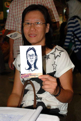 digital live caricature sketching for iCarnival (photos) - Day 2 - 67