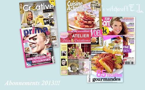 Abonnements 2013