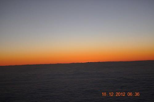 sunrise jets traveling