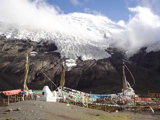 Glaciar Kharola Tibete