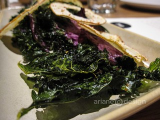 Forage/Spicy kale and apple chips