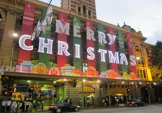 Flinders Street: Merry Christmas