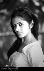 Pavani Portrait Black & White
