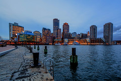Boston Skyline, Evening [355/366]