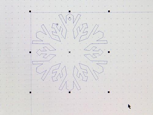 CNC Snowflakes 13
