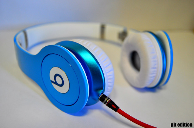 beats by drdre light blue flickr photo sharing
