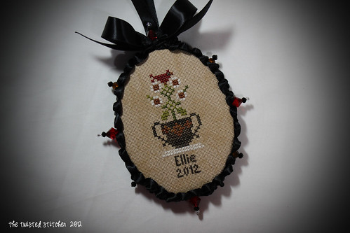Ellie 2012 Ornament