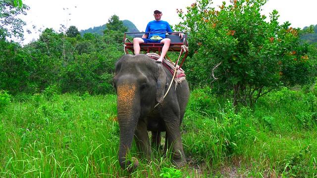 VPo kickin' back, Ko Chang, Thailand