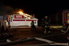 Brand Rewe-Getränkemarkt Rüdesheim 26.12.12
