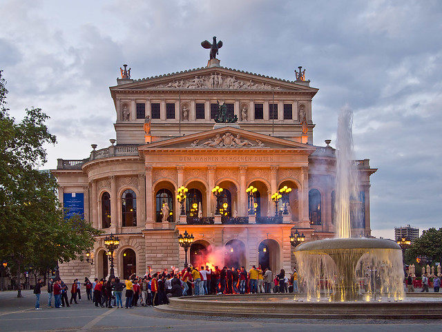 Alte Oper. Frankfurt am Main. Germany