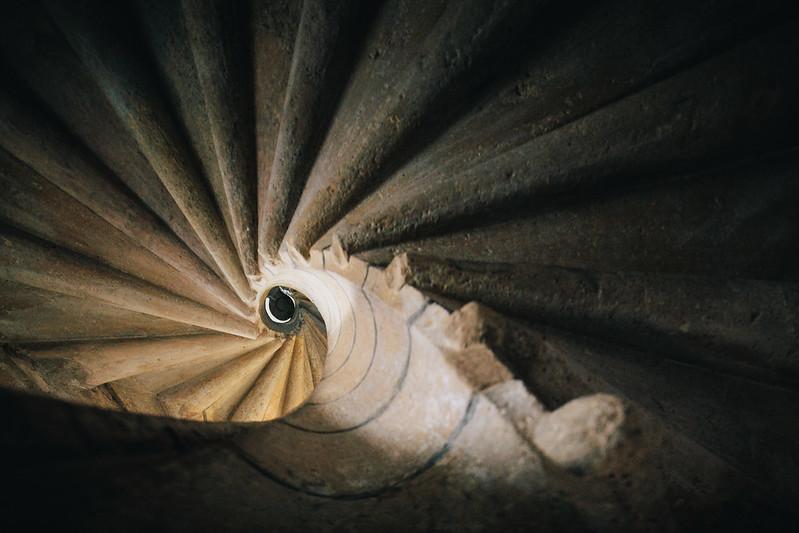 Treppenturm.