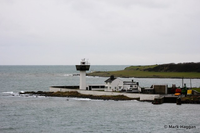Ferris Point lighthouse, Islandmagee, near Larne