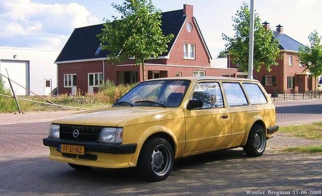 Opel Kadett Caravan 1.3S 1980