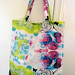 Rose Kaleidoscope Tote Bag by FaerySocks