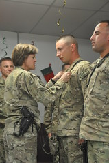 Awards for CMRE Soldiers at the 401st AFSB