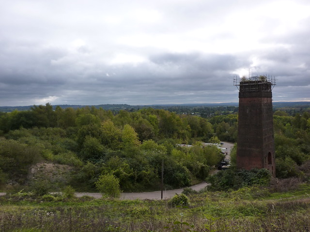Old lime kiln at Betchworth Quarry