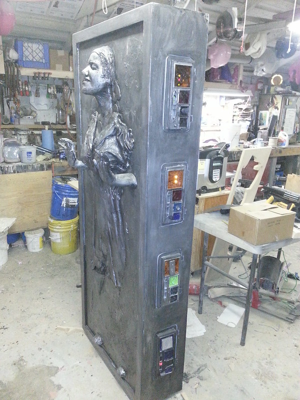 Jenny in Carbonite Finished Left
