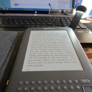 Kindle keyboard light repaired