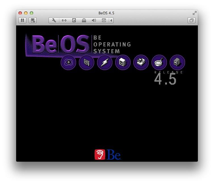 BeOS 4.5