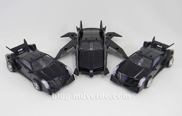 Transformers Jet Vehicon Deluxe - Prime Arms Micron - modo alterno vs Vehicon RiD