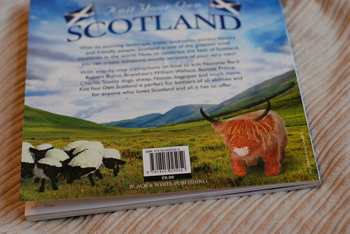 Knit Your Own Scotland - Scottish Sheep and Highland Cow coo knitting patterns
