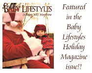 Featured in Baby Lifestyles Magazine 2012 Holiday Issue
