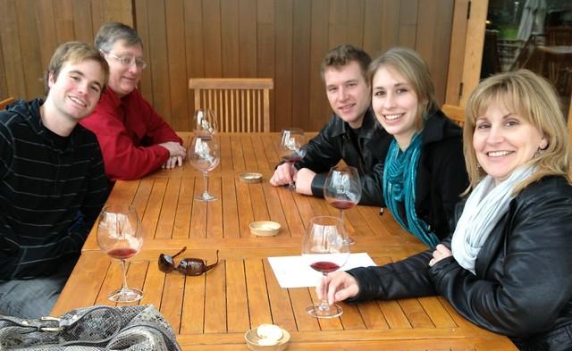 Frame Family Wine Tasting