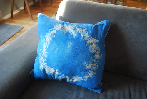 Sunprinted Pillow