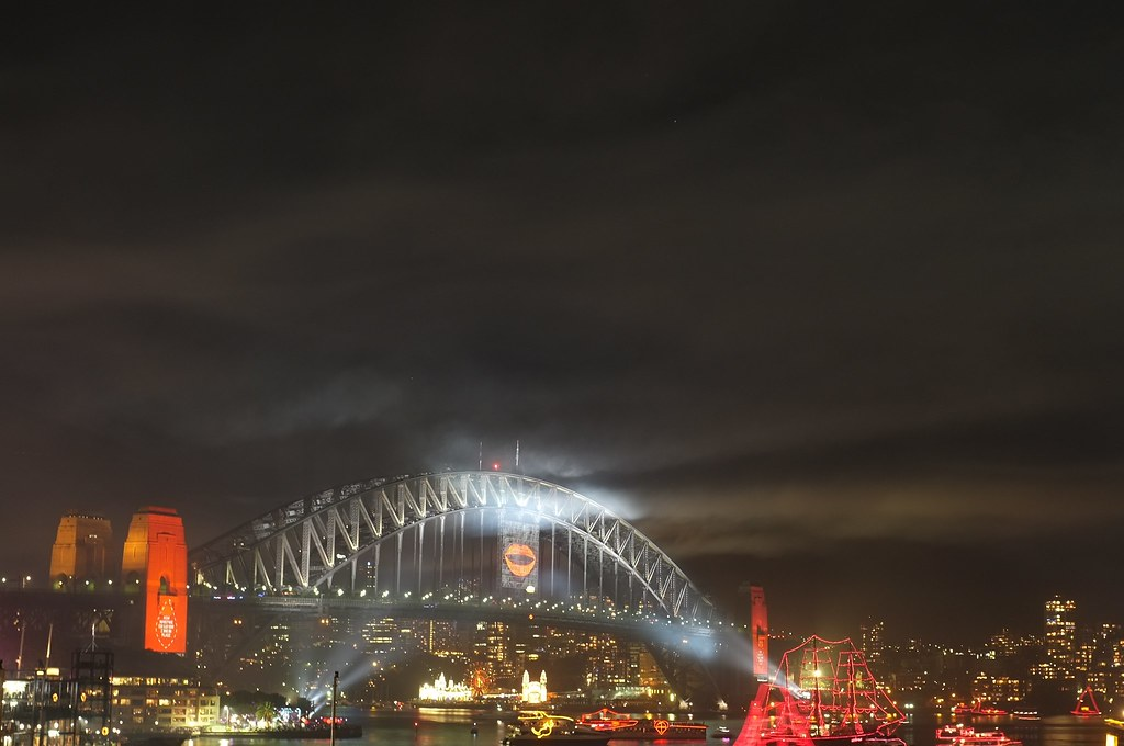 Sydney Harbour Bridge NYE2013